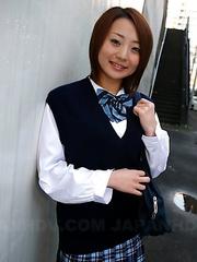 Yu Shirogan gets her undies caught