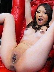 Stunning Ibuki got her smooth squirting pussy toyed hard