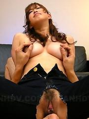 Emiri Seo gets into a hot threesome
