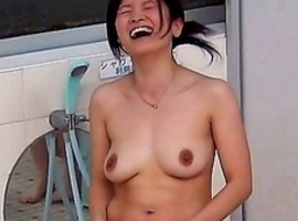 Japanese Piss Fetish Videos - Asian Girls Pissing - Steamy Streams At A Bathhouse 6