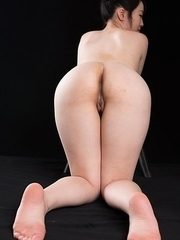 Yuka Shirayuki is a schoolgirl that loves it when men cum on her bubble butt