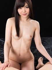 Shino Aoi's Cum Covered Handjob